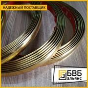 Лента золотая ЗлПд 97.5-2.5 1,2 мм фото