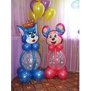 Фигуры из шаров Астана фото