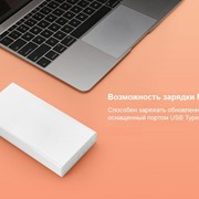 Внешний аккумулятор Xiaomi Mi Power Bank 20000 мАч фото