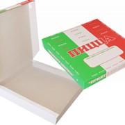 Готовые коробки для пиццы, нанесение печати фото