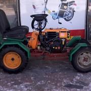Мини-трактор с мотоблока фото
