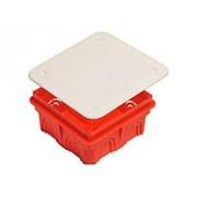 Коробка расп-я 100х100х40мм для с/у с крышкой IP20 (КР1101) HEGEL фото