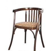 Кресло мягкое деревянное Алекс КМФ 250-01-2 фото