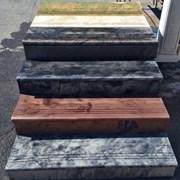 Ступеньки и подступенки мрамор из бетона фото