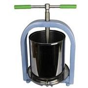 Пресс винтовой 25 л. для отжима сока из фруктов, ягод и овощей фото
