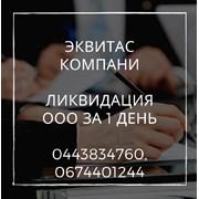 Ликвидация ООО за 1 день. Помощь в ликвидации пред фото