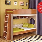 Кровать двухъярусная Легенда 10.1, разные цвета фото