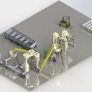 Оборудование для сушки и гранулирования биомассы фото