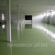 Полы промышленные полимерные фото