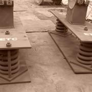 Продуктопроводы пневматические - опоры фото