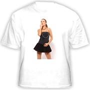 Печать по футболкам фото