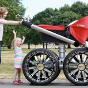 Ремонт детских колясок. фото