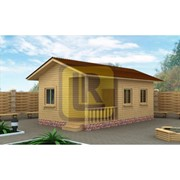 Каркасно-щитовой дом Проект №8 8х4.5 фото