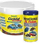 Корм для рыб Tetra Cichlid XL Flakes 10л фото