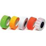 Ценник прямоугольный цветной (В) ассорти, 22*12 (500 шт- 6м) фото
