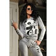 Женский спортивный костюм Панда фото