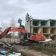 Демонтаж зданий, строений, сооружений, домов фото