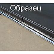 Пороги Suzuki Grand Vitara 2008-2011 5 дв. (вариант 3 труба 63 мм) фото