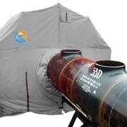 Укрытие для ведения работ на трубопроводах диаметром Шатер 1020-1420 фото