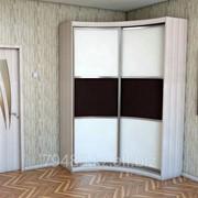 """Радиусный шкаф купе """"Модуль 1"""" фото"""