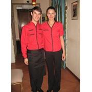 Пошив форменной одежды, одежда для персонала, одежда для официантов фото