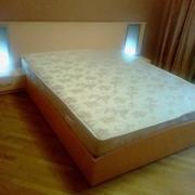 Кровать МДФ двухспальная фото