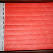 Контрольные браслеты (красный неон) фото