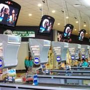 Размещение рекламы на мониторах в сети магазинов фото