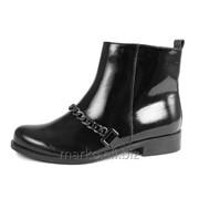Ботинки девичьи, артикул 072257 фото