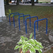 Велопарковка П-образная фото