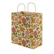 """Пакет подарочный """"Цветочная поляна"""", крафт, 16х7х18см, (MILAND) фото"""