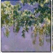 Картина модульная Глициния, 1917-1920 фото