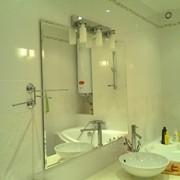 Работы зеркал под заказ, фацет. Зеркало в ванную с фацетом фото