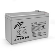 Аккумуляторная батарея AGM RITAR RT1290, Gray Case, 12V 9.0Ah ( 151 х 65 х 94, (100), Q10 фото