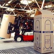 Упаковка для промышленных товаров из гофрокартона фото