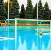 Ворота для водного поло (3,0х0,9 м), свободноплавающие с сетками фото