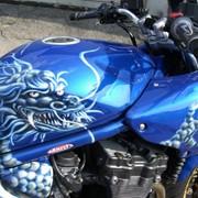 Аэрография , роспись мотоциклов фото