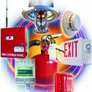 Установка систем противопожарной безопасности фото