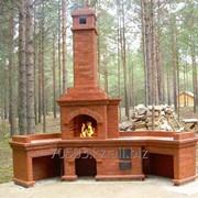 Строительство печей, камин, мангалов, барбекюшниц. Опыт в сфере 30 лет фото