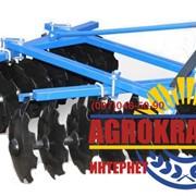 Борона дисковая к мини трактору 1BQX 1.7 м фото