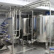 Комплект оборудования для приемки и первичной обработки молока, производительность 500-6000 л/сутки фото