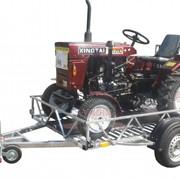 Прицеп для перевозки квадроцикла, снегохода, мини трактора фото