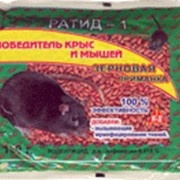 Зерновая приманка для крыс и мышей РАТИД-1(100р) фото