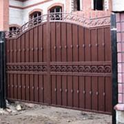 Ворота распашные РВ-17 фото