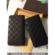Кошелек Louis Vuitton Zippy Infini клатч Черный Мужской фото