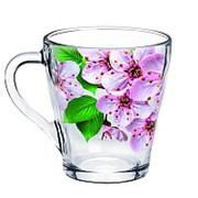 """Кружка для чая """"Живая природа, Сакура"""" 250мл., 1649-Д фото"""