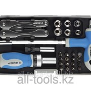 Набор Зубр универсальный, слесарно-монтажный инструмент в пластмассовом боксе, 35 предметов Код:25290-H35 фото
