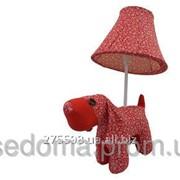 Мягкая настольная лампа Собака фото