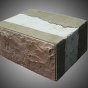 Теплостен - трёхслойный стеновой блок фото