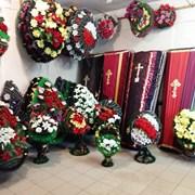 Траурные венки в Алматы фото